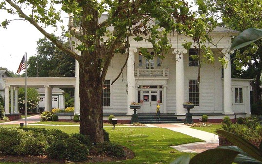 Chamber of Commerce shares office space with other agencies at the Troutman House